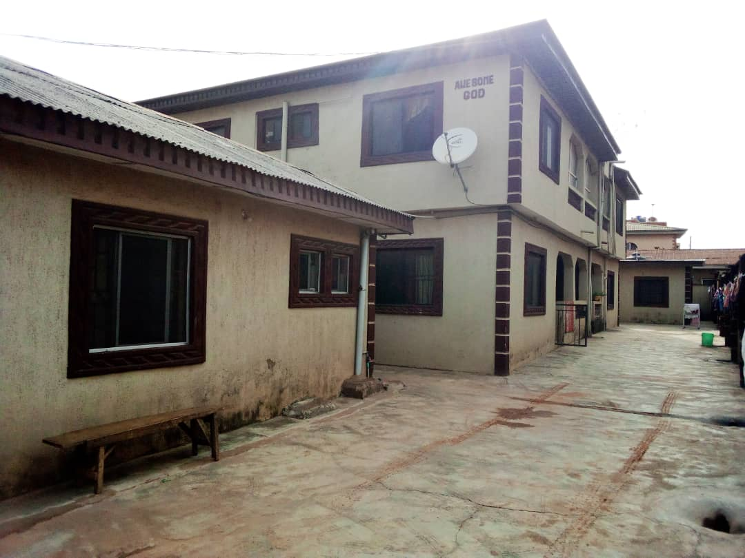 8 FLATS PROPERTY WITH BIG PARKING SPACE AT AKUTE