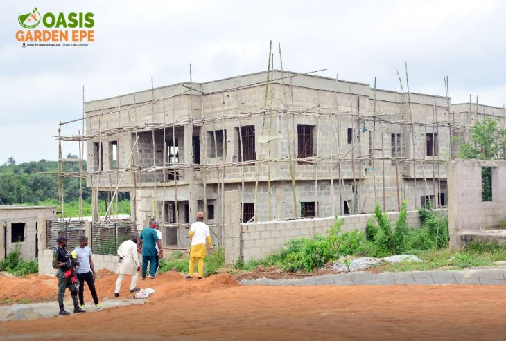 Buy Affordable Plots of Land In OASIS GARDEN EPE