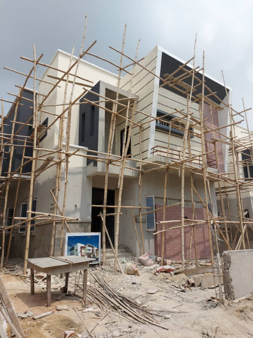PANTHEON SMART HOME - 4 BEDROOM SEMI DETACHED AND 5 BEDROOM FULLY DETACHED DUPLEX IN ORCHID HOTEL ROAD, LEKKI
