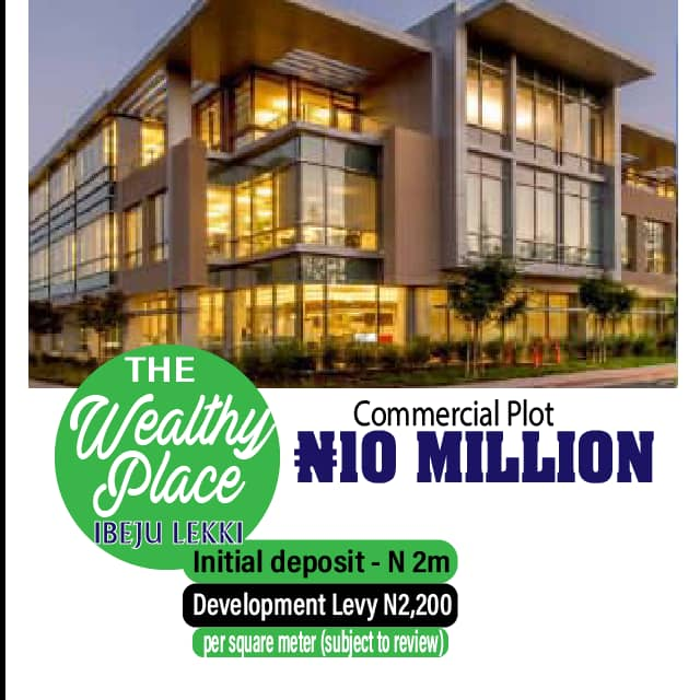 THE WEALTHY PLACE - A PRIVATE BUSINESS PARADISE AT THE LEKKI FREE TRADE ZONE