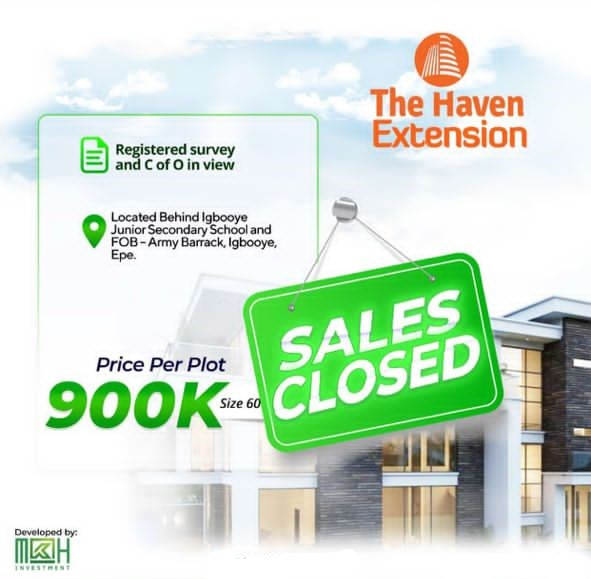 THE HAVEN EXTENSION, EPE