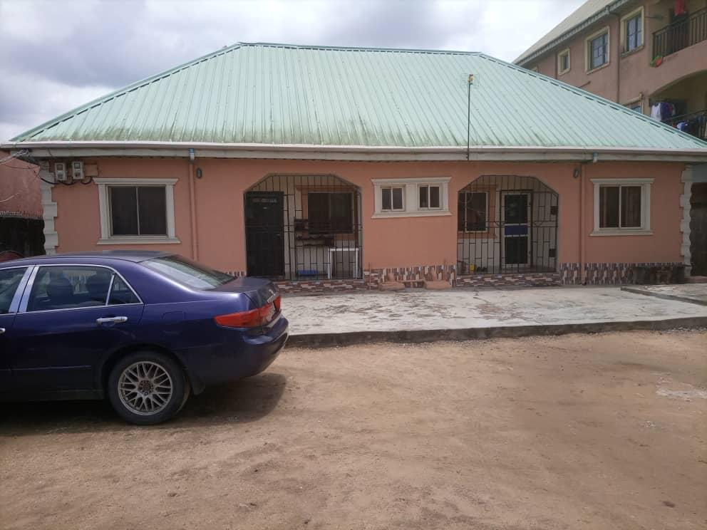 FOR SALE - 4 UNITS OF 2 BEDROOM FLAT ON 648 SQM OF LAND CLOSE TO LASU CAMPUS, OJO, LAGOS
